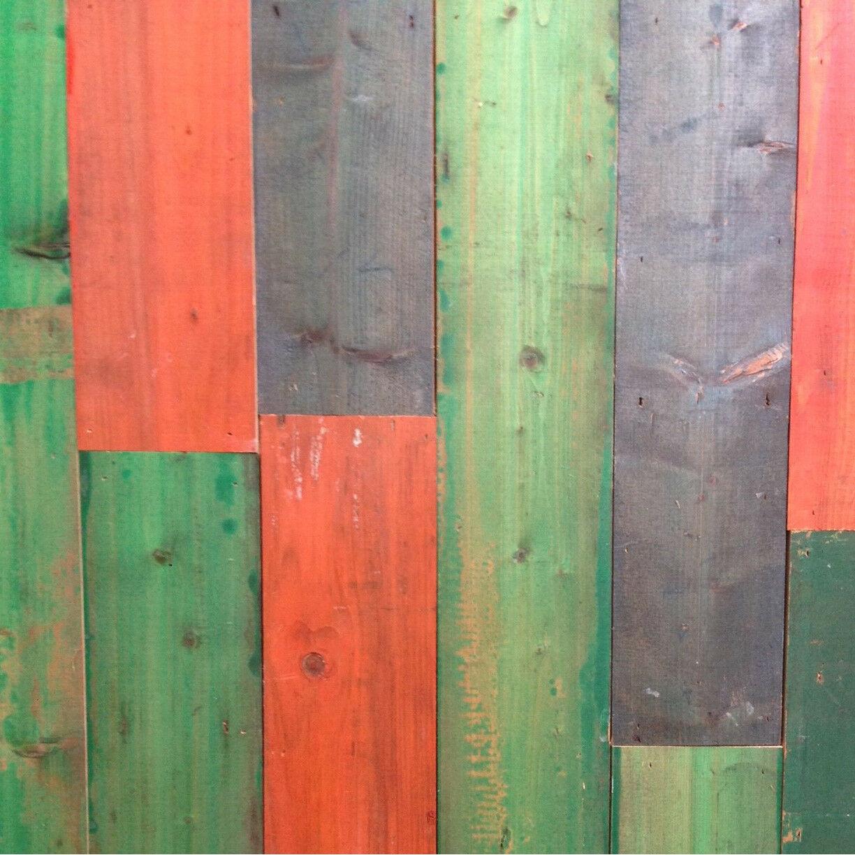Gekleurd sloophout