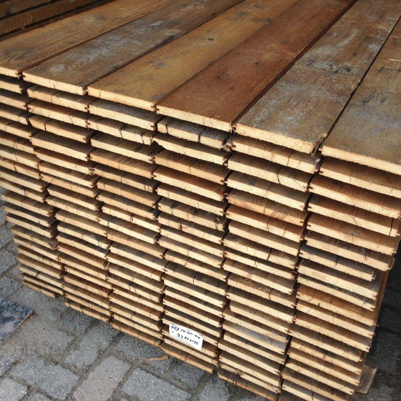 Dakbeschot hout