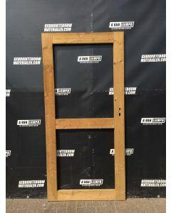 Houten Tuinhuisdeur 89,5 B x 190 H