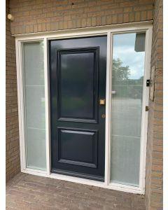 Hardhouten Kozijn + Voordeur 200 B x 224 H