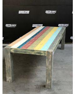 2Life-Art Eettafel, 270 L x 100 B