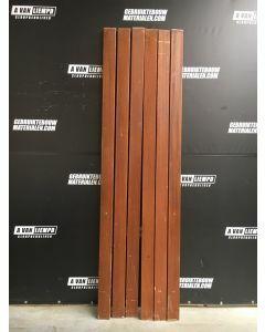Hardhouten Trapleuning (Lengte: 260 cm)