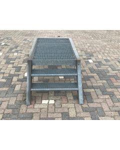 Stalen / Gegalvaniseerde Trap, 210 L x 94 B