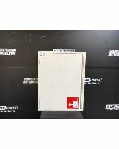 Witte Brandslangkast, 73,5 B x 94 H
