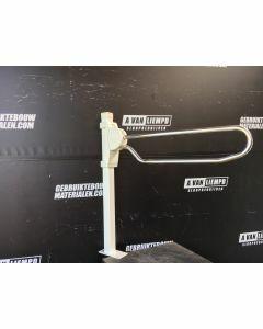 Linido Vloerstatief Met Opklapbare Toiletbeugel, 80 cm