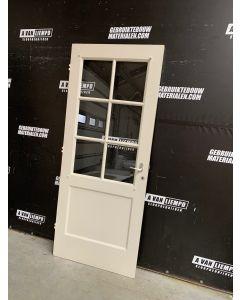 Binnendeur 87 B x 212,5 H (Linksdraaiend)