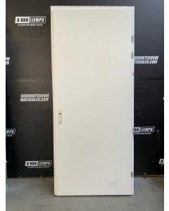 Binnendeur + Kozijn 95 B x 234 H (Rechtsdraaiend)