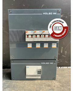 Holec/Eaton Stoppenkast - 4 Groepen + Hoofdschakelaar