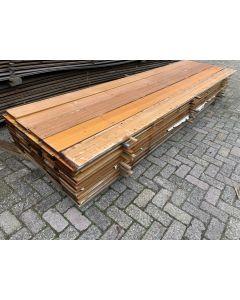 Hardhouten Plank 19x2 cm| Lengte: ± 350 cm
