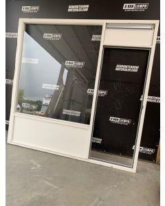 Houten Raamkozijn + Achterdeur, 254 B x 251 H