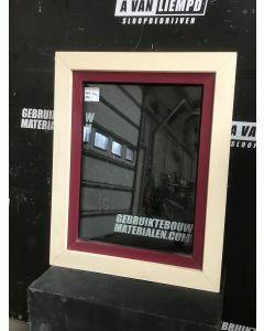 Kunststof Raamkozijn Met Draai-Kiepraam, 79 B x 98 H