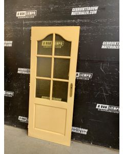 Binnendeur 82,5 B x 201,5 H (Linksdraaiend)