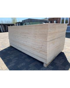 Nieuwe Vareplex Radiata Pine Underlayment 122x244 cm   18 mm