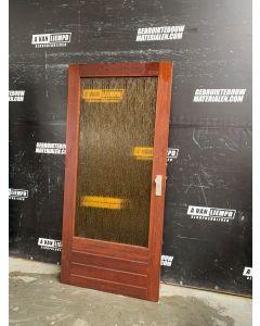 Binnendeur 92,5 B x 201 H (Rechtsdraaiend)