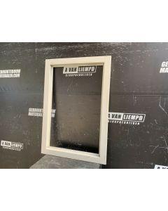 Houten Raamwerk / Frame, 74 B x 108 H