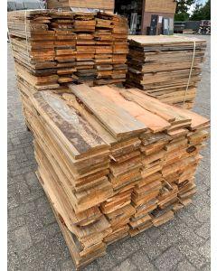 Douglas Planken 19x2cm | Lengte: ±90cm (±500 stuks)