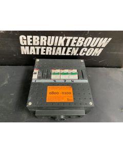 ABB / Hafonorm Stoppenkast - 1 Groep