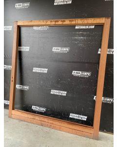 Hardhouten Deurframe, 215 B x 236,5 H