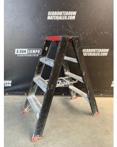 Altrex Aluminium Dubbele Trap - 2x4 Treden