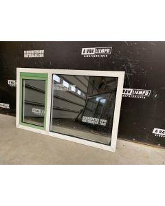 Aluminium Raamkozijn Met Draai-Kiepraam, 184 B x 104 H