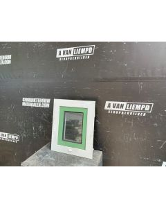 Aluminium Raamkozijn Met Valraam, 43 B x 52 H