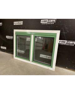 Aluminium Raamkozijn, 128 B x 104 H