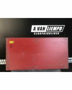 HPL / Trespa Plaat (Rood) 79 x 40 cm - Dikte: 6 mm.