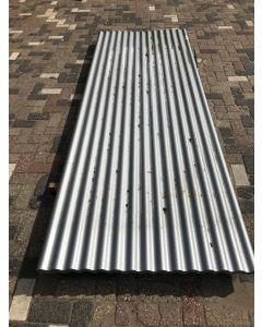 Stalen Golfplaat (Grijs) 306 x 110 cm