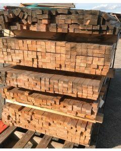 Geschaafd Vuren Balkhout 4x2,5 cm | Lengte: 221,5 cm