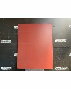 HPL / Trespa Plaat (Rood) 160 x 123 cm - Dikte: 6 mm