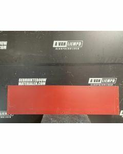HPL / Trespa Plaat (Rood) 158,5 x 40 cm - Dikte: 6 mm