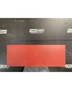 HPL / Trespa Plaat (Rood) 160 x 59 cm - Dikte: 6 mm