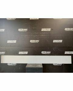Trespa / HPL Plaat (Grijs) 305 x 33,5 cm - Dikte: 6 mm