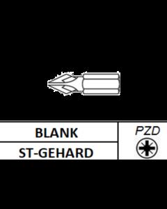 """Schroefbit 1/4"""" Gehard PZD 2x25MM (10st)"""