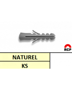 Muurpluug Kunststof Ø6MM (100st)