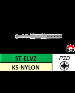 Nagelplug PZD 8x80MM (100st)