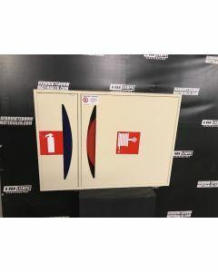 Ajax Brandslanghaspel 25 Meter + Dubbele Kast
