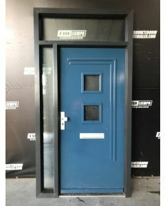 Kunststof Kozijn + Voordeur 140 B x 250 H (Linksdraaiend)