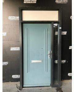 Kunststof Kozijn + Voordeur 140 B x 250 H (Rechtsdraaiend)