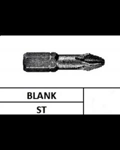 """Schroefbit 1/4"""" Gehard PHKR 2x25MM (10st)"""