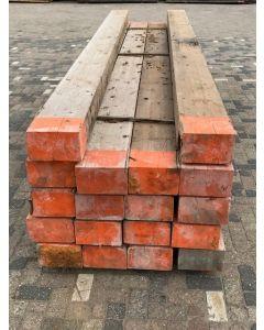 Gebruikte houten balk, 450 L x 26 H x 16 D