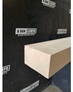 Nieuwe geschaafde (vuren) houten balk, 14,5 B x 9,2 D x 248 L