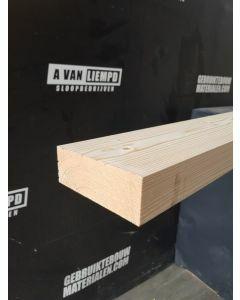 Nieuwe geschaafde (vuren) houten balk, 9,5 B x 4,6 D x 248 L