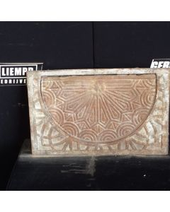 Gietijzer Kolenluik, 54 B x 34 H