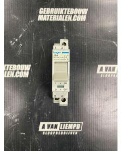 HAGER Installatieautomaat xN 216F1 25a (30016)