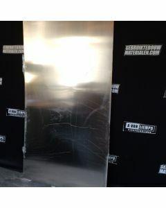 Aluminium Plaat, 102 B x 190 L