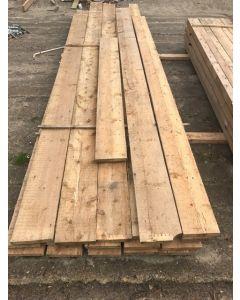 Steigerplank, 3,2 cm dik x 23 cm breed x 380 cm lang