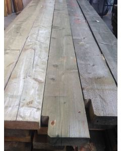 Geïmpregneerde houten balk, 360 L x 22 B x 8 D