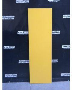 HPL / Trespa Plaat (Geel) 181 x 55 cm - Dikte: 12 mm.