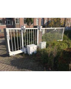 Stalen Schuifpoort + Looppoort